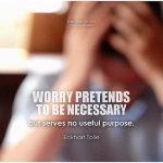 The habit of worry
