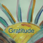 Relationship between gratitude and scarcity
