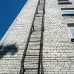 Bungee cords and ladders