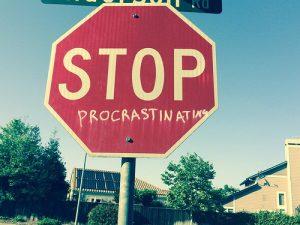 photo credit: Lynn Friedman STOP procrastination via photopin (license)